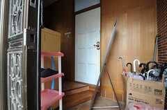 正面玄関から見た内部の様子。(2013-12-09,周辺環境,ENTRANCE,1F)
