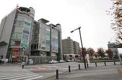 各線・朝霞台駅前の様子。(2013-12-09,共用部,ENVIRONMENT,1F)