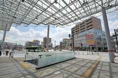 東武東上線・朝霞駅前の様子。(2012-08-24,共用部,ENVIRONMENT,1F)