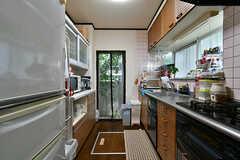 キッチンの様子2。(2017-07-20,共用部,KITCHEN,1F)