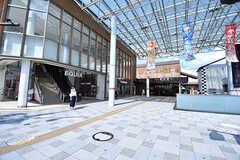 東武スカイツリーライン・朝霞駅の様子。(2017-07-20,共用部,ENVIRONMENT,1F)