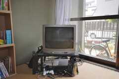 共用TVの様子。(2009-06-17,共用部,OTHER,1F)