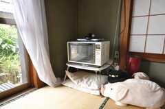 電子レンジはラウンジにある。(2009-06-17,共用部,OTHER,1F)