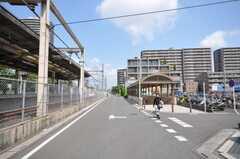 東武東上線ふじみ野駅からシェアハウスへ向かう道の様子。(2009-06-17,共用部,ENVIRONMENT,1F)