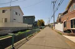 シェアハウス周辺の様子。新興住宅地です。(2013-04-08,共用部,ENVIRONMENT,1F)