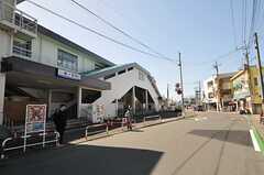 東武東上線・鶴ヶ島駅の様子。(2013-04-08,共用部,ENVIRONMENT,1F)