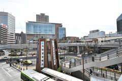 各線・川口駅前の様子。(2020-03-17,共用部,ENVIRONMENT,1F)