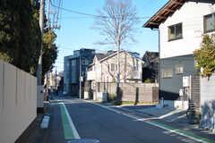 周辺は穏やかな住宅街。(2020-03-16,共用部,ENVIRONMENT,1F)
