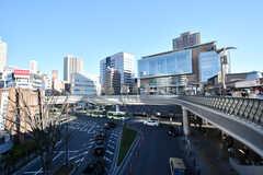各線・川口駅前の様子2。(2020-03-16,共用部,ENVIRONMENT,1F)