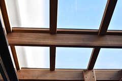 屋根付きです。(101号室)(2017-01-11,専有部,ROOM,1F)