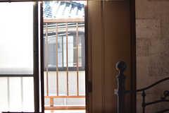 雨戸付きです。(204号室)(2017-01-11,専有部,ROOM,2F)