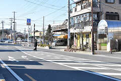 埼玉高速鉄道線・新井宿駅周辺の様子。(2017-01-11,共用部,ENVIRONMENT,1F)