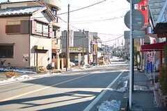 駅近くの商店街の様子。(2016-01-20,共用部,ENVIRONMENT,1F)