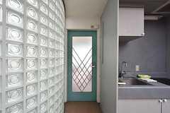 専有部のドア。(307号室)(2016-06-01,専有部,ROOM,3F)