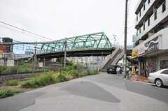 京浜東北線蕨駅からシェアハウスへ向かう道の様子2。(2010-06-24,共用部,ENVIRONMENT,1F)