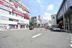 JR京浜東北線・蕨駅前の様子。(2021-07-07,共用部,ENVIRONMENT,1F)
