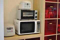 キッチン家電の様子。(2012-05-15,共用部,KITCHEN,3F)
