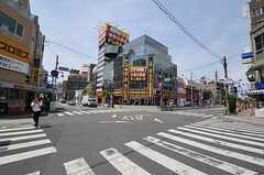 京浜東北線・西川口駅からシェアハウスへ向かう道の様子。(2012-05-15,共用部,ENVIRONMENT,1F)