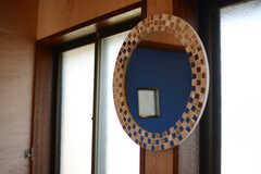 鏡も設置されています。(2017-11-07,共用部,WASHSTAND,2F)