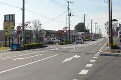 埼玉高速鉄道線・新井宿駅前の道路。(2017-11-07,共用部,ENVIRONMENT,1F)