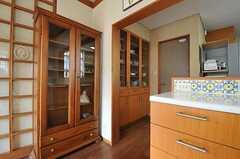飾り棚の様子。(2012-03-19,共用部,OTHER,1F)