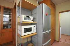 キッチン家電の様子。(2012-03-19,共用部,KITCHEN,1F)