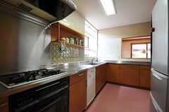 キッチンの様子3。(2012-03-19,共用部,KITCHEN,1F)