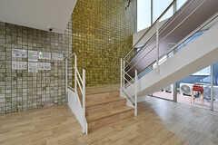 階段の様子。(2017-04-17,共用部,OTHER,1F)