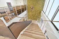 階段の様子。(2017-04-17,共用部,OTHER,2F)