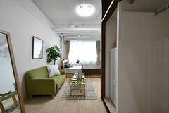 専有部の様子。モデルルームです。(108号室)(2017-04-17,専有部,ROOM,1F)