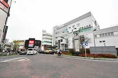 JR・西川口駅の様子。(2017-04-17,共用部,ENVIRONMENT,1F)