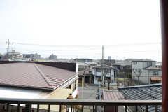 窓からの景色。(307号室)(2014-11-04,専有部,ROOM,3F)
