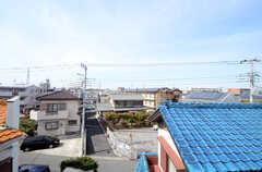 窓からの景色。(308号室)(2014-11-04,専有部,ROOM,3F)