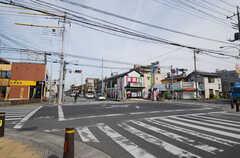 東武スカイツリーライン・北越谷駅からシェアハウスへ向かう道の様子。(2014-11-04,共用部,ENVIRONMENT,1F)