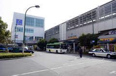 東武スカイツリーライン・北越谷駅の様子。(2014-11-04,共用部,ENVIRONMENT,1F)