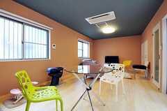 シェアハウスのリビングの様子3。(2011-02-11,共用部,LIVINGROOM,1F)