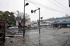 東武伊勢崎線・蒲生駅からシェアハウスへ向かう道の様子。(2011-02-11,共用部,ENVIRONMENT,1F)