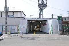 東武伊勢崎線・大袋駅の様子。(2013-04-01,共用部,ENVIRONMENT,1F)