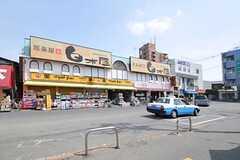 東武伊勢崎線・大袋駅前の様子。(2013-04-01,共用部,ENVIRONMENT,1F)
