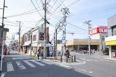 シェアハウス周辺の商店街の様子。(2013-04-01,共用部,ENVIRONMENT,1F)
