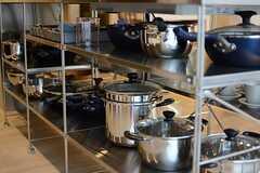 調理器具はこちら。(2015-04-28,共用部,KITCHEN,1F)