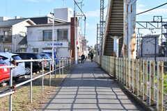西武池袋線・清瀬駅からシェアハウスへ向かう道の様子。(2019-12-18,共用部,ENVIRONMENT,1F)