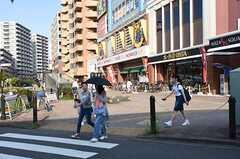 JR武蔵野線・新座駅周辺の様子。(2016-07-11,共用部,ENVIRONMENT,1F)