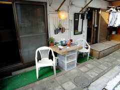 ラウンジの前にあるリラックス・スペース(2007-03-22,共用部,LIVINGROOM,1F)