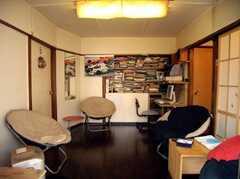 ラウンジの様子。(B棟・1F)(2007-03-22,共用部,LIVINGROOM,1F)