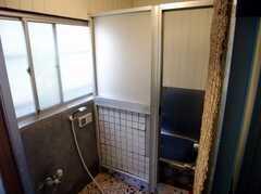 シャワールームの様子2。(A棟・1F)(2007-03-22,共用部,BATH,1F)