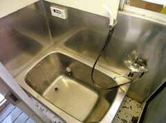 シャワールームの様子3。(A棟・1F)(2007-03-22,共用部,BATH,1F)