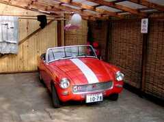 メイプルハウスの清掃担当、カールさんの愛車。普通にコレで街乗りしてる様子。(2007-03-22,共用部,OTHER,1F)