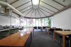 大食堂の様子。食堂と言う名のキッチンです。(2012-05-30,共用部,KITCHEN,1F)