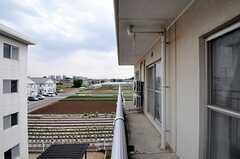 ベランダからの景色。(A313号室)(2012-05-30,専有部,ROOM,3F)